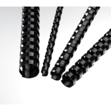 Plastic combs 8 mm black