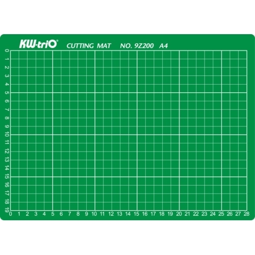 Cutting Mat A4 (22x30cm) Green