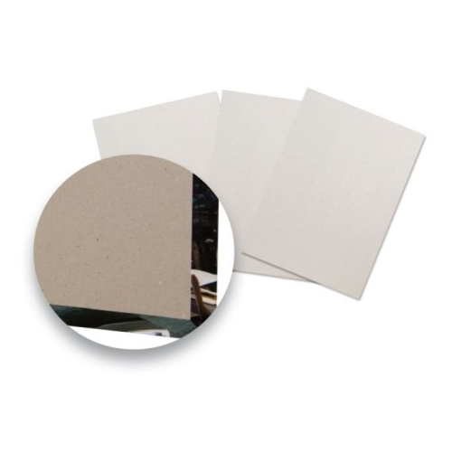 Fastbind hard cover Grey Board 294 x 220 mm for A4 Landscape Thk:3 mm