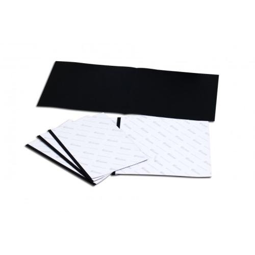 Fastbind hot melt binding End paper black 305 x 305 mm Square