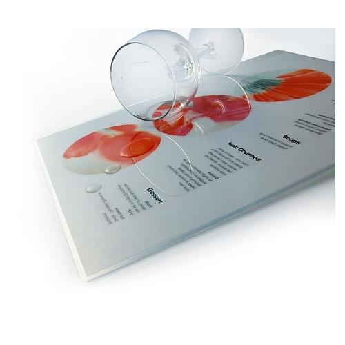 Laminating pouches Eurosupplies 60x95 mm  80 mic, glossy