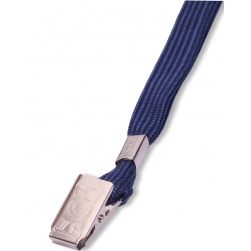 Lanyard LILY with clip blue