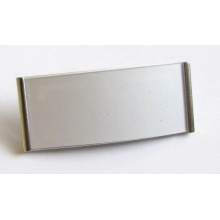Name Badge magnetic MGT 73 silver