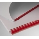 Plastic combs 12 mm red