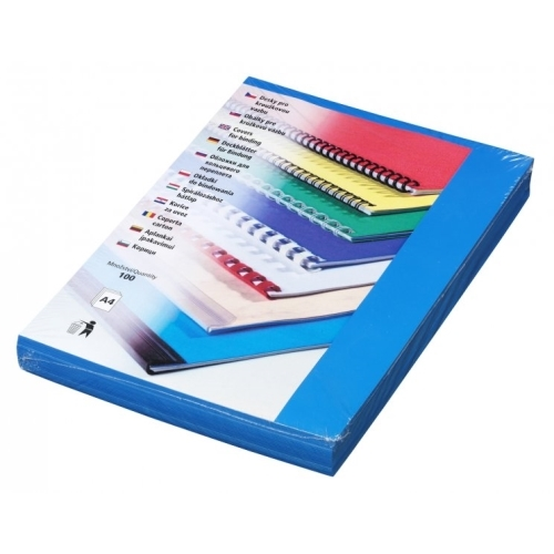 Polyprophylen matt Covers Futura A4 blue