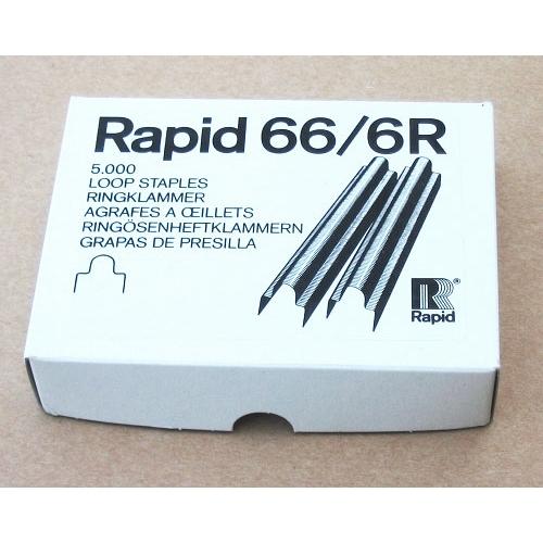 Rapid Staples 66/6 R