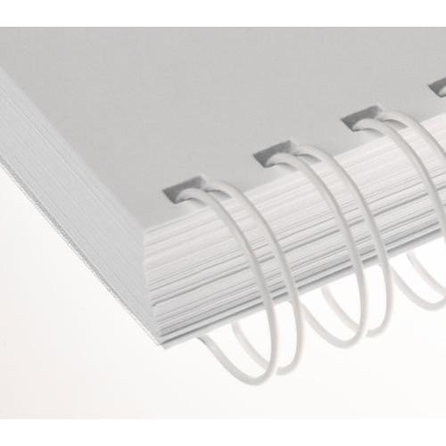 "Ring wire RENZ 19 mm 2/1"" white"