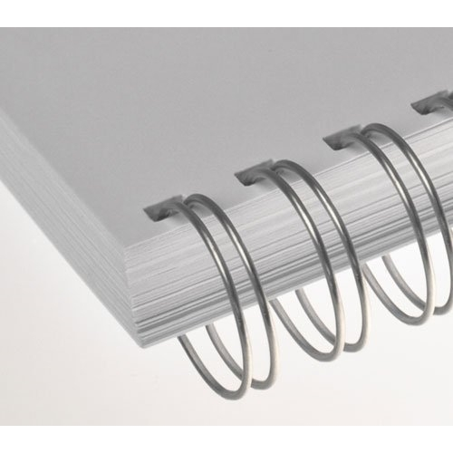 """Ring wire RENZ 8 mm 2/1"""" silver"""