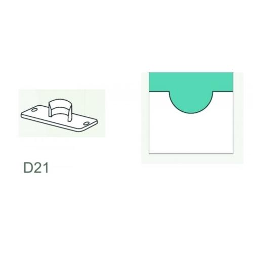 Semicircle Knife D 21 mm